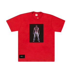 Supreme Tupac Hologram Tee Red {SALE}
