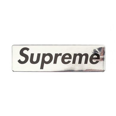 Supreme Plastic Box Logo Sticker