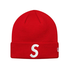 Load image into Gallery viewer, Supreme New Era S Logo Beanie Red