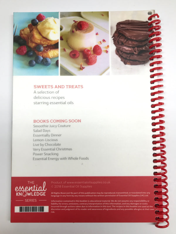 Sweets & Treats the essential way : Recipe Book with Tenina Holder