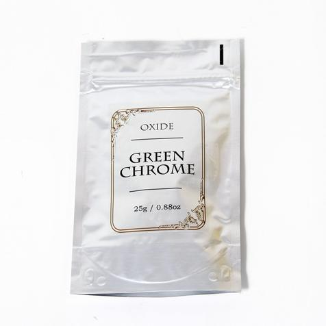 Green Chrome Oxide Mineral Powder, kosmetisk grad - 25 g