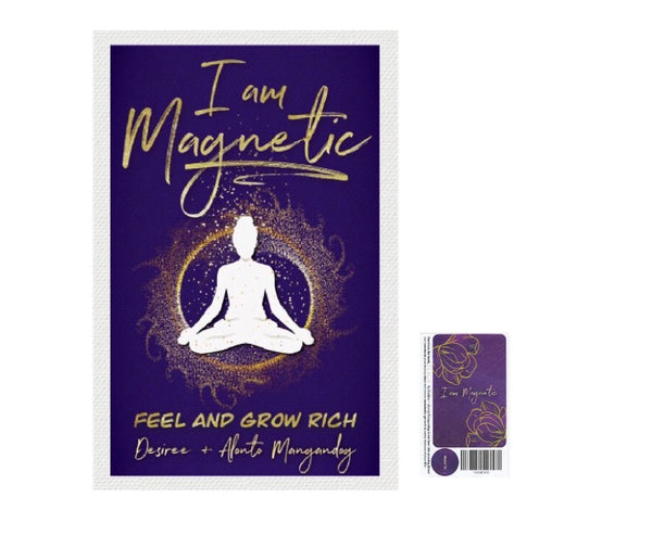 I am Magnetic: Feel and grow rich av Desiree og Alonto Mangandog + Labels