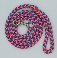 Purple Rose Paracord Dog Leash by The Leash Ladies