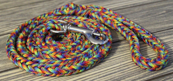 Hippie Paracord Dog Leash