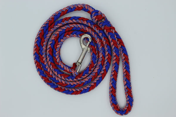 Renegade Stars and Stripes Paracord Dog Leash by The Leash Ladies