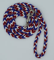 Stars and Stripes Paracord Dog Leash by The Leash Ladies