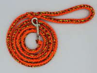 Orange Fireball Renagade Paracord Leash