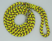 Light Stripes Paracord Dog Leash