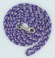 Purple Diamond Paracord Dog Leash