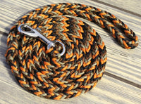 Rattlesnake Paracord Dog Leash by The Dog Ladies