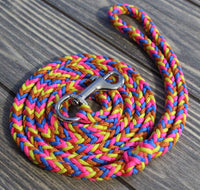 Heartfelt Paracord Dog Leash by The Dog Ladies