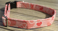 Hearts Galore Dog Collar