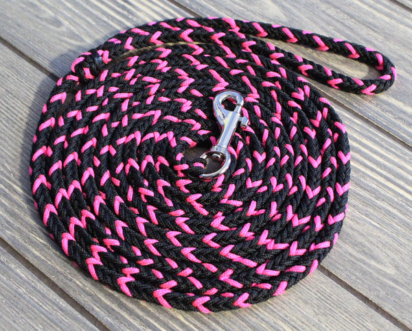 Pink and Black Speciality Leash