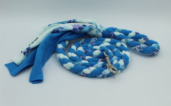 Sea Turtle Fleece Tug Leash by The Leash Ladies