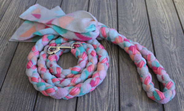 5 Ft Fleece Leash