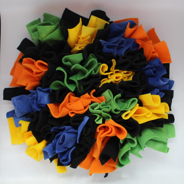 Colored Blocks Snuffle Mat