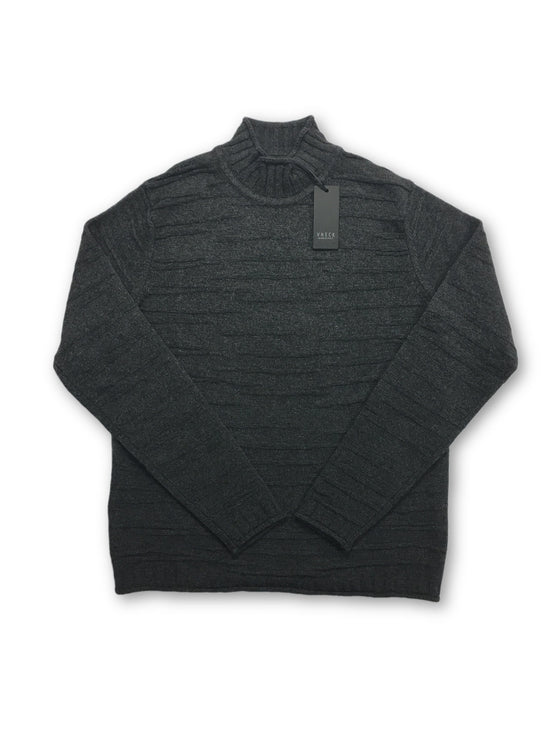 VNECK knitwear in grey knitted stripe design- khakisurfer.com Latest menswear designer brands added include Eton, Etro, Agave Denim, Pal Zileri, Circle of Gentlemen, Ralph Lauren, Scotch and Soda, Hugo Boss, Armani Jeans, Armani Collezioni.