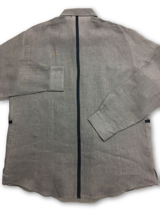 Messori shirt in grey- khakisurfer.com Latest menswear designer brands added include Eton, Etro, Agave Denim, Pal Zileri, Circle of Gentlemen, Ralph Lauren, Scotch and Soda, Hugo Boss, Armani Jeans, Armani Collezioni.