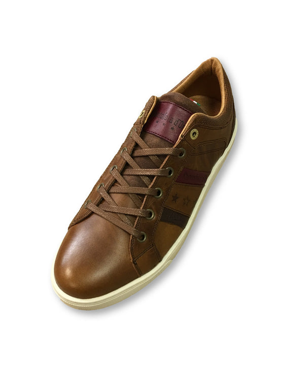 Pantofola d'Oro Enzo trainers in tortoise shell brown- khakisurfer.com Latest menswear designer brands added include Eton, Etro, Agave Denim, Pal Zileri, Circle of Gentlemen, Ralph Lauren, Scotch and Soda, Hugo Boss, Armani Jeans, Armani Collezioni.