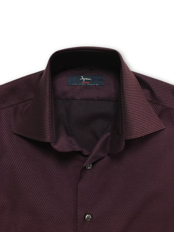 Ingram Cottonstir slim fit shirt in purple- khakisurfer.com Latest menswear designer brands added include Eton, Etro, Agave Denim, Pal Zileri, Circle of Gentlemen, Ralph Lauren, Scotch and Soda, Hugo Boss, Armani Jeans, Armani Collezioni.