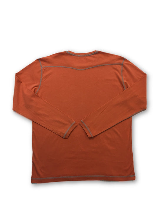 Agave Copper Mantle top in orange- khakisurfer.com Latest menswear designer brands added include Eton, Etro, Agave Denim, Pal Zileri, Circle of Gentlemen, Ralph Lauren, Scotch and Soda, Hugo Boss, Armani Jeans, Armani Collezioni.