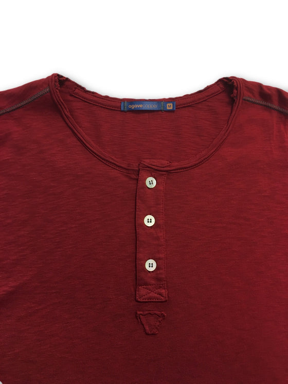 Agave Lux Exposure top in red- khakisurfer.com Latest menswear designer brands added include Eton, Etro, Agave Denim, Pal Zileri, Circle of Gentlemen, Ralph Lauren, Scotch and Soda, Hugo Boss, Armani Jeans, Armani Collezioni.