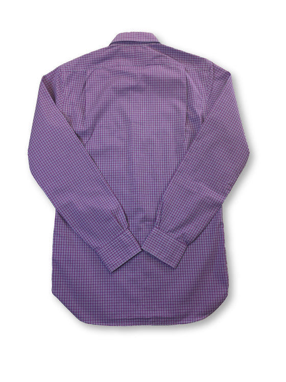 Ralph Lauren Polo slim fit cotton shirt in purple/white check- khakisurfer.com Latest menswear designer brands added include Eton, Etro, Agave Denim, Pal Zileri, Circle of Gentlemen, Ralph Lauren, Scotch and Soda, Hugo Boss, Armani Jeans, Armani Collezioni.