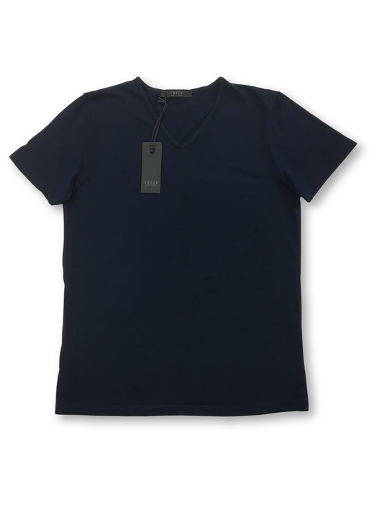 VNECK Corta T-shirt in navy- khakisurfer.com Latest menswear designer brands added include Eton, Etro, Agave Denim, Pal Zileri, Circle of Gentlemen, Ralph Lauren, Scotch and Soda, Hugo Boss, Armani Jeans, Armani Collezioni.