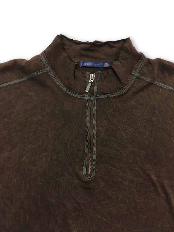 Agave Copper Flatland top in brown- khakisurfer.com Latest menswear designer brands added include Eton, Etro, Agave Denim, Pal Zileri, Circle of Gentlemen, Ralph Lauren, Scotch and Soda, Hugo Boss, Armani Jeans, Armani Collezioni.
