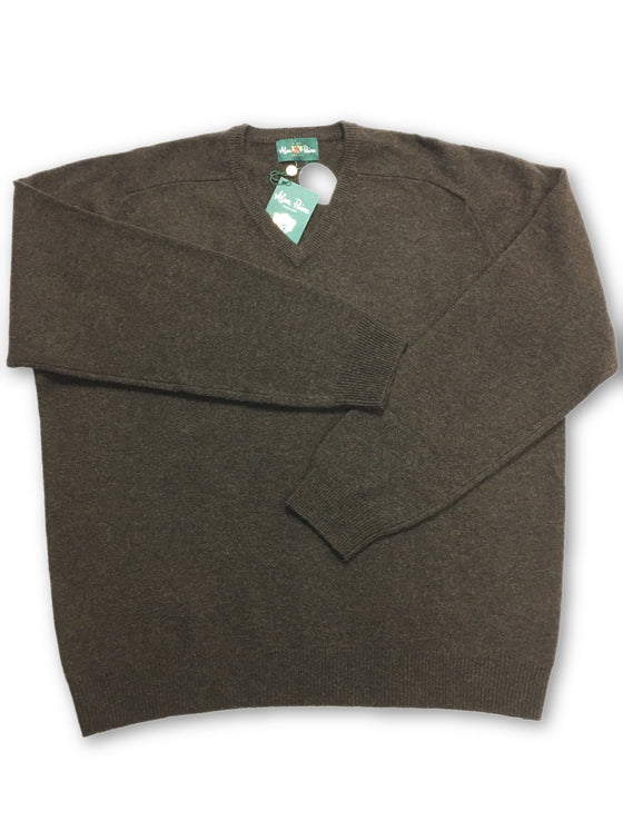 Alan Paine knitwear in brown- khakisurfer.com Latest menswear designer brands added include Eton, Etro, Agave Denim, Pal Zileri, Circle of Gentlemen, Ralph Lauren, Scotch and Soda, Hugo Boss, Armani Jeans, Armani Collezioni.