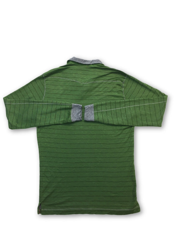 Agave Silver Talus top in green- khakisurfer.com Latest menswear designer brands added include Eton, Etro, Agave Denim, Pal Zileri, Circle of Gentlemen, Ralph Lauren, Scotch and Soda, Hugo Boss, Armani Jeans, Armani Collezioni.