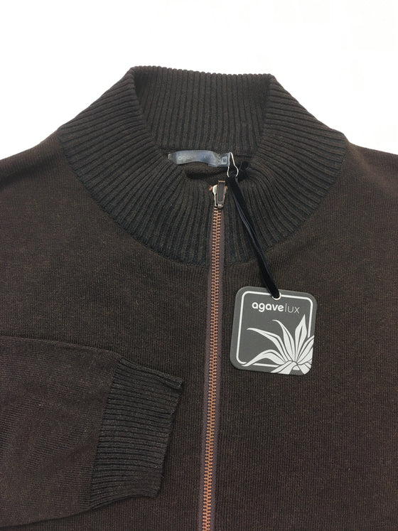 Agave Lux Andorra knitwear in brown- khakisurfer.com Latest menswear designer brands added include Eton, Etro, Agave Denim, Pal Zileri, Circle of Gentlemen, Ralph Lauren, Scotch and Soda, Hugo Boss, Armani Jeans, Armani Collezioni.