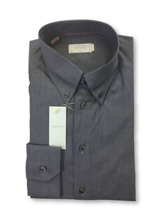 Eton Pinpoint Oxford slim fit shirt in grey- khakisurfer.com Latest menswear designer brands added include Eton, Etro, Agave Denim, Pal Zileri, Circle of Gentlemen, Ralph Lauren, Scotch and Soda, Hugo Boss, Armani Jeans, Armani Collezioni.