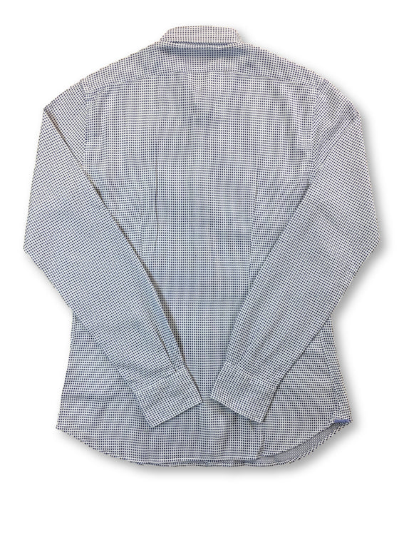 Xacus Tessitura Monti tailor fit shirt in white/blue- khakisurfer.com Latest menswear designer brands added include Eton, Etro, Agave Denim, Pal Zileri, Circle of Gentlemen, Ralph Lauren, Scotch and Soda, Hugo Boss, Armani Jeans, Armani Collezioni.