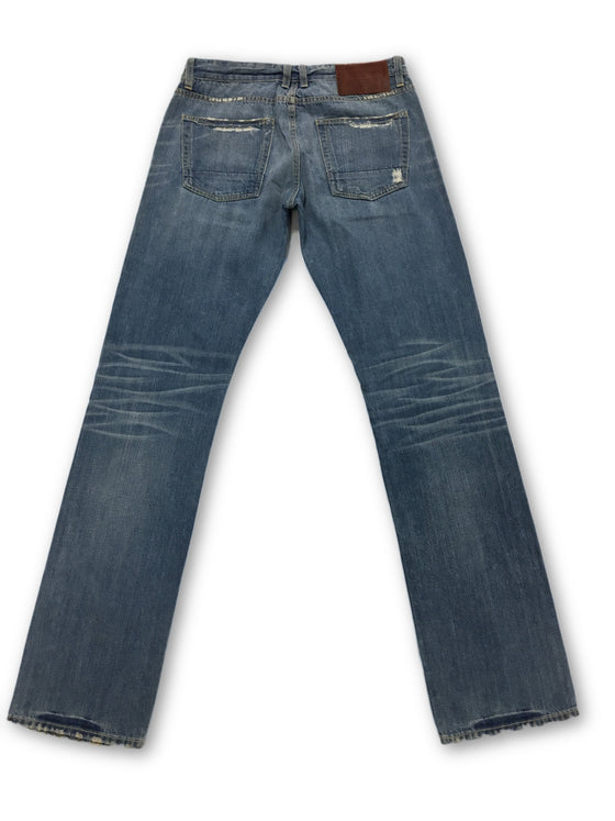 Agave 'Maverick' jeans in blue- khakisurfer.com Latest menswear designer brands added include Eton, Etro, Agave Denim, Pal Zileri, Circle of Gentlemen, Ralph Lauren, Scotch and Soda, Hugo Boss, Armani Jeans, Armani Collezioni.