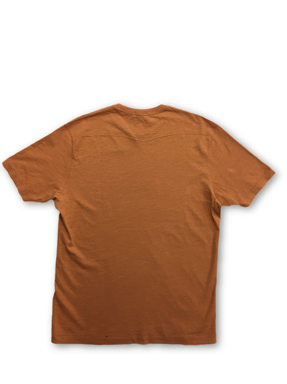 Agave t-shirt in orange- khakisurfer.com Latest menswear designer brands added include Eton, Etro, Agave Denim, Pal Zileri, Circle of Gentlemen, Ralph Lauren, Scotch and Soda, Hugo Boss, Armani Jeans, Armani Collezioni.