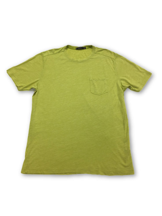 Agave Denim 'Flybridge' t-shirt in yellow- khakisurfer.com Latest menswear designer brands added include Eton, Etro, Agave Denim, Pal Zileri, Circle of Gentlemen, Ralph Lauren, Scotch and Soda, Hugo Boss, Armani Jeans, Armani Collezioni.