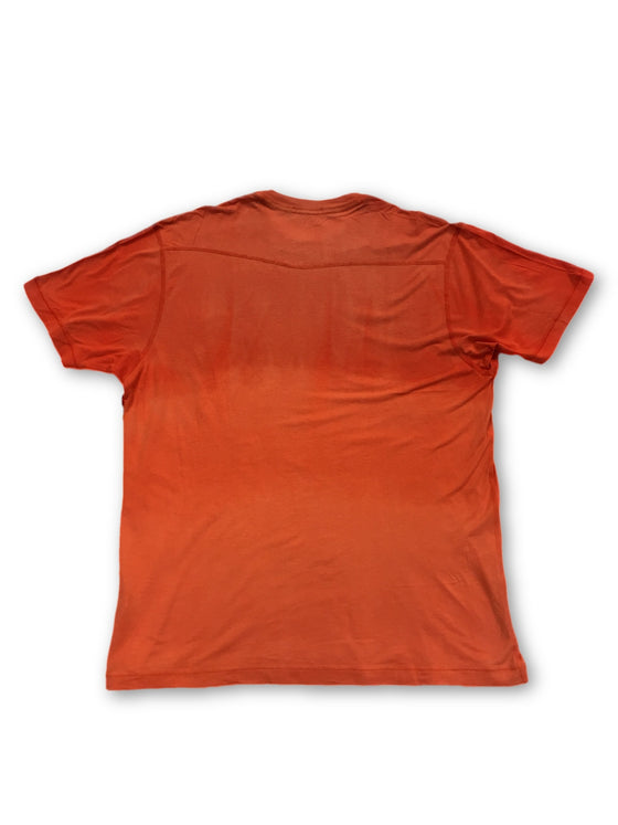 Agave 'Copper' t-shirt in orange- khakisurfer.com Latest menswear designer brands added include Eton, Etro, Agave Denim, Pal Zileri, Circle of Gentlemen, Ralph Lauren, Scotch and Soda, Hugo Boss, Armani Jeans, Armani Collezioni.