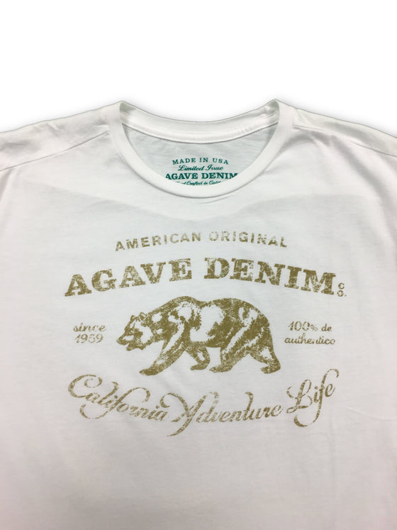 Agave t-shirt in white- khakisurfer.com Latest menswear designer brands added include Eton, Etro, Agave Denim, Pal Zileri, Circle of Gentlemen, Ralph Lauren, Scotch and Soda, Hugo Boss, Armani Jeans, Armani Collezioni.