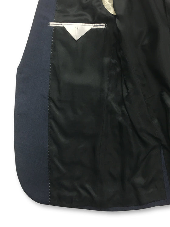 Tiger Nedvin fully structured jacket in blue