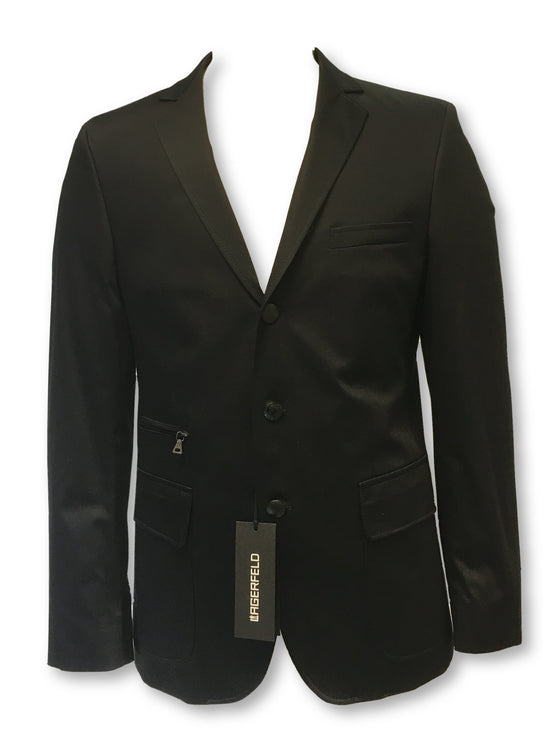 Lagerfeld fully structured jacket in black- khakisurfer.com Latest menswear designer brands added include Eton, Etro, Agave Denim, Pal Zileri, Circle of Gentlemen, Ralph Lauren, Scotch and Soda, Hugo Boss, Armani Jeans, Armani Collezioni.