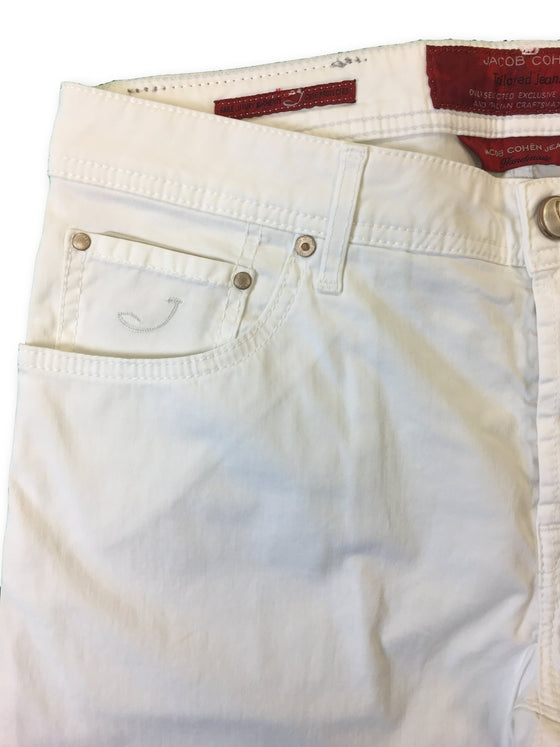 Jacob Cohen jeans in white