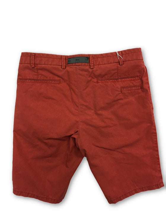 Hiltl Slim Fit Shorts in Burnt Orange- khakisurfer.com Latest menswear designer brands added include Eton, Etro, Agave Denim, Pal Zileri, Circle of Gentlemen, Ralph Lauren, Scotch and Soda, Hugo Boss, Armani Jeans, Armani Collezioni.