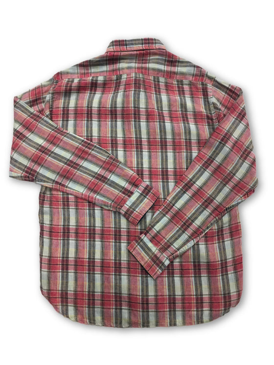 Tailor Vintage shirt in red- khakisurfer.com Latest menswear designer brands added include Eton, Etro, Agave Denim, Pal Zileri, Circle of Gentlemen, Ralph Lauren, Scotch and Soda, Hugo Boss, Armani Jeans, Armani Collezioni.