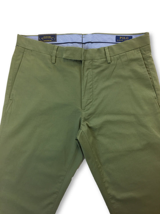 Ralph Lauren Polo stretch slim fit chinos in green- khakisurfer.com Latest menswear designer brands added include Eton, Etro, Agave Denim, Pal Zileri, Circle of Gentlemen, Ralph Lauren, Scotch and Soda, Hugo Boss, Armani Jeans, Armani Collezioni.
