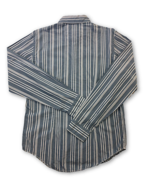 Strellson shirt in blue- khakisurfer.com Latest menswear designer brands added include Eton, Etro, Agave Denim, Pal Zileri, Circle of Gentlemen, Ralph Lauren, Scotch and Soda, Hugo Boss, Armani Jeans, Armani Collezioni.