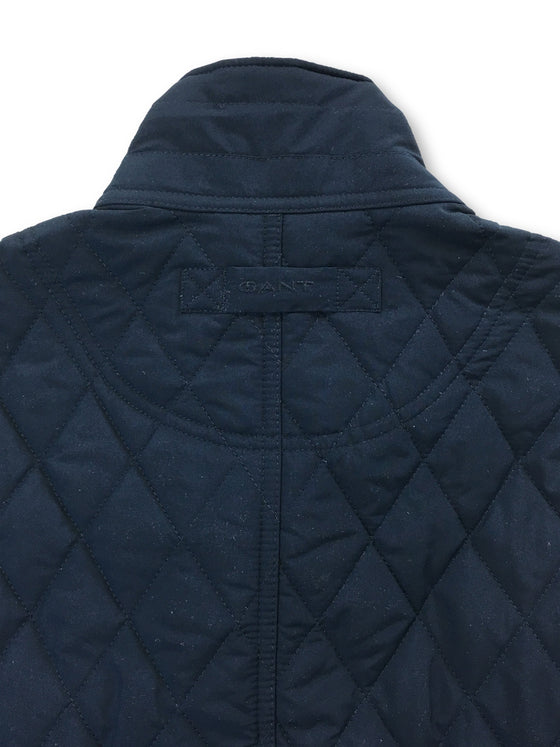 Gant The Central Pond Quilter jacket in navy- khakisurfer.com Latest menswear designer brands added include Eton, Etro, Agave Denim, Pal Zileri, Circle of Gentlemen, Ralph Lauren, Scotch and Soda, Hugo Boss, Armani Jeans, Armani Collezioni.
