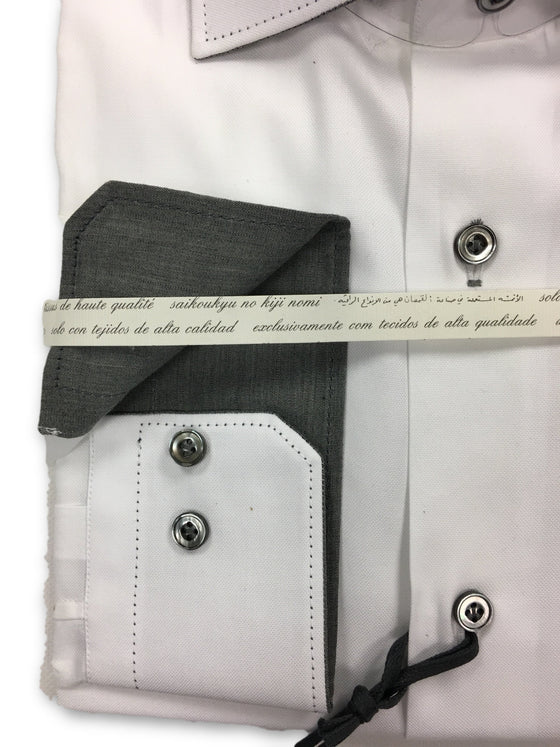 Pal Zileri shirt in fine white cotton oxford with shaped collar- khakisurfer.com Latest menswear designer brands added include Eton, Etro, Agave Denim, Pal Zileri, Circle of Gentlemen, Ralph Lauren, Scotch and Soda, Hugo Boss, Armani Jeans, Armani Collezioni.