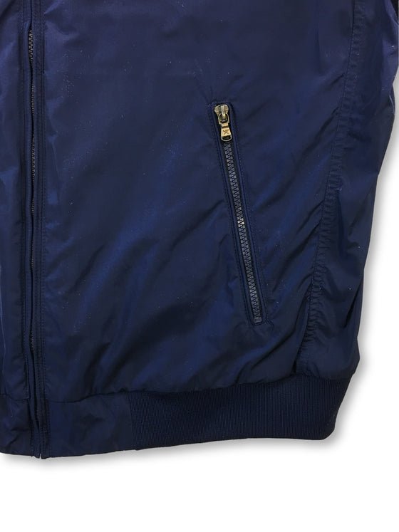 Hackett Nylon Blouson bomber jacket in blue- khakisurfer.com Latest menswear designer brands added include Eton, Etro, Agave Denim, Pal Zileri, Circle of Gentlemen, Ralph Lauren, Scotch and Soda, Hugo Boss, Armani Jeans, Armani Collezioni.