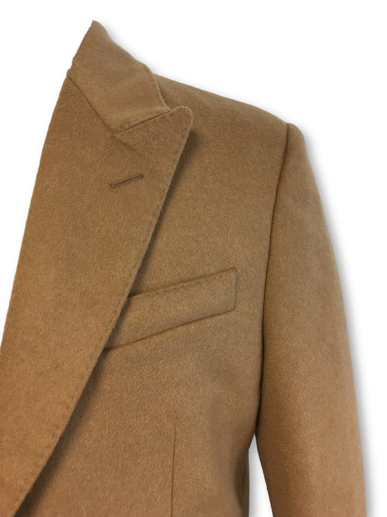 Hardy Amies wool/cashmere overcoat in light caramel brown- khakisurfer.com Latest menswear designer brands added include Eton, Etro, Agave Denim, Pal Zileri, Circle of Gentlemen, Ralph Lauren, Scotch and Soda, Hugo Boss, Armani Jeans, Armani Collezioni.